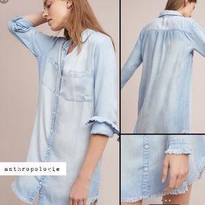 cloth & stone Dresses - Anthropologie Cloth and Stone Denim dress